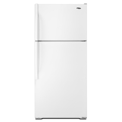 Amana A4TXNWFWW 14.4 cu. ft. Refrigerator with Wire Shelves, Reversible Door Swing & Dairy Center
