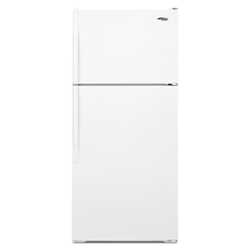 Amana A8TXNGFXW 17.6 cu. ft. Refrigerator with Glass Shelves, Deli Drawer & Wire Freezer Shelf