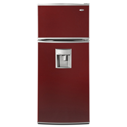 Amana Quick Tap A8WXNGFWH 17.6 cu. ft. Refrigerator with Glass Shelves, Exterior Beverage Dispenser & Wine Rack