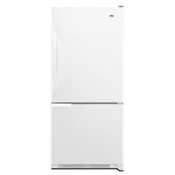 Amana ABB2221WEW 21.9 cu. ft. Refrigerator with Adjustable Glass Shelves & Temp Assure Freshness Controls