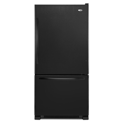 Amana ABB2224WEB 21.9 cu. ft. Refrigerator with 4 Half-Width Adjustable Spillsaver Glass Shelves