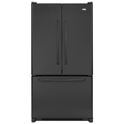 Amana AFD2535DEB 25.0 cu. ft. Refrigerator with Adjustable Door Bins, Internal Water Dispenser and Ice Maker