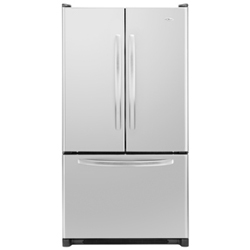 Amana AFF2534FES 24.8 cu. ft. Refrigerator with Glass Shelves, Humidity-Controlled Crispers and Freezer Baskets