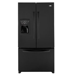 Amana AFI2538AEB 25.0 cu. ft. Refrigerator with Glass Shelves, Adjustable Door Bins & External Ice/Water Dispenser