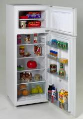 Avanti RA751WT 7.5 cu. ft. Apartment Size Top Freezer Refrigerator, Glass Shelves, Euro Style Design, White