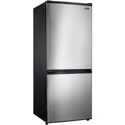 Danby DFF261BSLDB 9.2 cu. ft. Refrigerator with Adjustable Glass Shelves & CanStor Dispenser