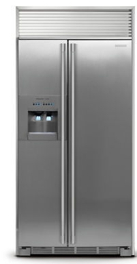 Electrolux ICON Professional E23CS78HPS 22.6 cu. ft. Counter-Depth Refrigerator with Custom-Design Full-Depth Glass Shelves & Full-Extension Drawers, Ice Water Dispenser