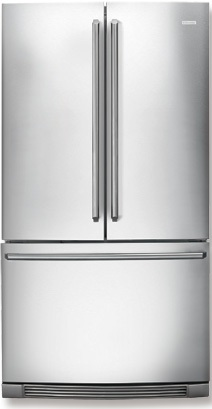 Electrolux IQ-Touch EI23BC36IS 22.6 cu. ft. Counter-Depth Refrigerator with Glass Shelves, Cool Zone Drawer, Ramp-Up Multilevel Lighting & IQ-Touch Controls