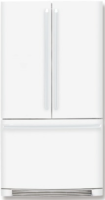 Electrolux IQ-Touch EI23BC36IW 22.6 cu. ft. Counter-Depth Refrigerator, Glass Shelves, Ice Maker, Multilevel Lighting, IQ-Touch Controls