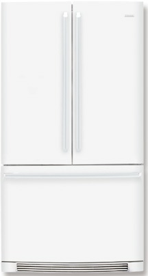 Electrolux IQ-Touch EI23BC51IW 22.6 cu. ft. Counter-Depth French Door Refrigerator, Perfect Temp Drawer, Multi-Level LED Lighting, Ice Maker, IQ-Touch Controls