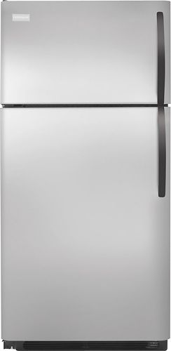 Frigidaire FFHT1725LK 16.5 cu. ft. Top Freezer Refrigerator, SpaceWise Adjustable Glass Shelves, Full Width Freezer Shelf, Store-More System, Cool Zone Drawer, Ready-Select Controls
