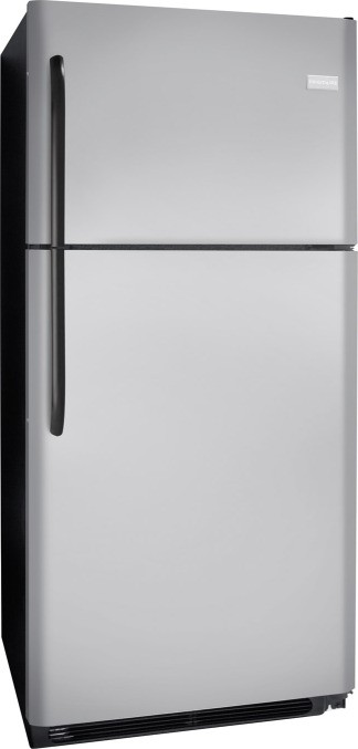 Frigidaire FFTR2126LM 20.6 cu. ft. Top-Freezer Refrigerator, SpillSafe Adjustable Glass Shelves, Full-Width Door Bins, Humidity-Controlled Drawers