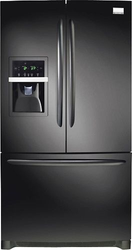 Frigidaire Gallery FGHB2844LE 27.8 cu. ft. French Door Refrigerator, Clear Full-Width Humidity Crispers, External Ice/Water Dispenser, Self-Closing Pull-Out Freezer Drawer