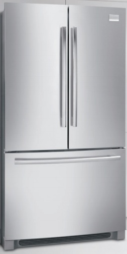 Frigidaire Professional FPHN2899LF 27.8 cu. ft. French Door Refrigerator, 4 SpillSafe Sliding Shelves, 2 Humidity Controlled Crispers, Store-More Full-Width Cool Zone Drawer