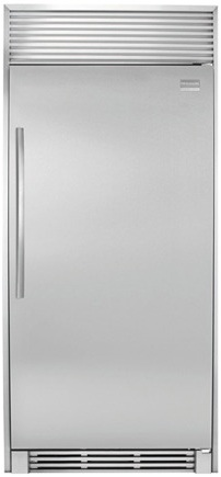 Frigidaire Professional FPRH19D7LF 18.6 cu. ft. All Refrigerator, 3 Full-Width Cantilever Glass Shelves, Full-Width Humidity Controlled Clear Crisper, Performance Lighting