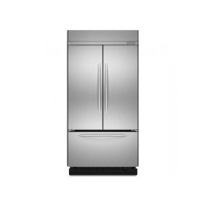 KitchenAid KBFC42FTS Architect Built-In French Door Refrigerator, Stainless Steel
