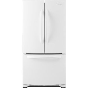 KitchenAid KBFS22EWWH Architect Series II 21.9 cu. ft. French Door Refrigerator, White