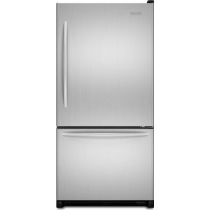 KitchenAid Architect II KBRS20EVMS 19.9 cu. ft. Counter Depth Bottom Freezer Refrigerator, FreshChill Temperature System, Humidity-Controlled Crispers, Internal Water Dispenser & Ice Maker, Monochromatic Stainless Steel