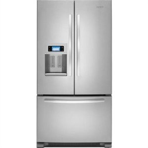 KitchenAid Architect II KFIS27CXMS 26.6 cu. ft. French Door Refrigerator, In-Door-Ice, External Ice & Water Dispenser, Color LCD Touch Display and Photo Uploading, Monochromatic Stainless Steel