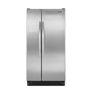 KitchenAid Architect II KSRS25MWMS 25.0 cu. ft. Side by Side Refrigerator, FreshChill Meat Locker, FreshSeal Crisper, Energy Star Qualified and Manual Slide Controls