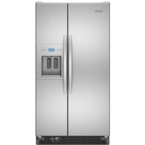 KitchenAid Architect II KSRS25RVMK 25.4 cu. ft. Side by Side Refrigerator, Humidity-Controlled Crisper, External Ice/Water Dispenser, In-Door-Ice, PuR Filtration, Monochromatic Stainless Cabinet