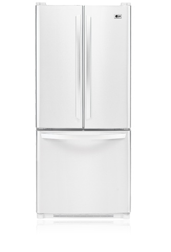 LG LFC20760SW 19.7 cu. ft. French Door Refrigerator, Ice Maker, Smooth White