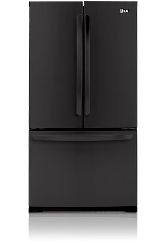 LG LFC25776SB 25.0 cu. ft. French Door Refrigerator, Linear Compressor, Smooth Black