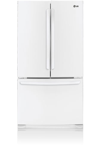 LG LFC25776SW 25.0 cu. ft. French Door Refrigerator, Linear Compressor, Smooth White