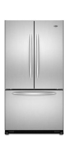 Maytag MFC2061KES 19.8 cu. ft. Counter-Depth French Door Refrigerator, 4 EasyGlide Spill-Catcher Glass Shelves, 2 Humidity Crispers, Ice Maker, Electronic Triple-Cool System