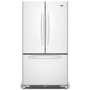 Maytag MFF2558VEA 24.8 cu. ft. French Door Refrigerator, 5 Spill-Catcher Glass Shelves, Dual Cool System, Humidity Controlled Crispers, Beverage Organizer Rack, Ice Maker, Hidden Hinges
