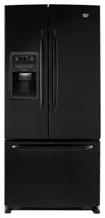 Maytag Ice2O MFI2269VEB 22.0 cu. ft. French-Door Refrigerator, Adjustable Spill-Catcher Glass Shelves, Beverage Chiller Compartment, Humidity-Controlled Crispers, External Ice/Water Dispenser, Exterior Electronic Controls