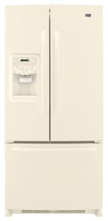 Maytag Ice2O MFI2269VEQ 22.0 cu. ft. French-Door Refrigerator, Adjustable Spill-Catcher Glass Shelves, Beverage Chiller Compartment, Humidity-Controlled Crispers, External Ice/Water Dispenser, Exterior Electronic Controls