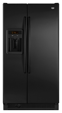 Maytag MSD2274VEB 21.8 cu. ft. Side by Side Refrigerator, Adjustable Spill-Catcher Glass Shelves, Humidity-Controlled Crispers, Deli Drawer, Fill-N-Chill Ice/Water Dispenser, Up-Front Sliding Controls