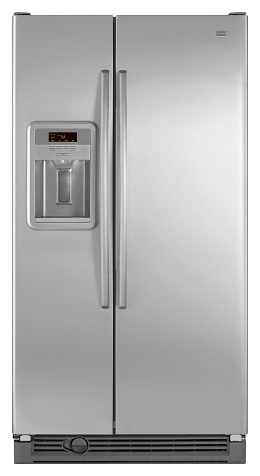 Maytag MSD2274VEM 21.8 cu. ft. Side by Side Refrigerator, Adjustable Spill-Catcher Glass Shelves, Humidity-Controlled Crispers, Deli Drawer, Fill-N-Chill Ice/Water Dispenser, Up-Front Sliding Controls