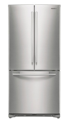 Samsung RF217ACPN 20.0 cu. ft. Bottom Freezer Refrigerator, Twin Cooling System, Power Freeze/Cool, LED Lighting, Ice Maker, 33