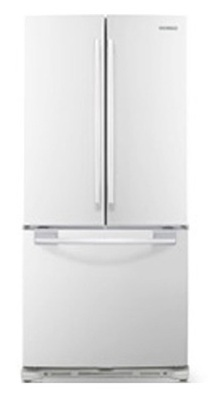 Samsung RF217ACWP 20.0 cu. ft. Bottom Freezer Refrigerator, Twin Cooling System, Power Freeze/Cool, LED Lighting, Ice Maker, 33