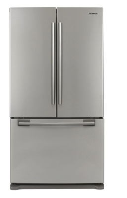 Samsung RF263AEPN 25.8 cu. ft. French-Door Refrigerator, 5 Glass Shelves, Spill Proof, Twin Cooling System, CoolSelect Pantry, Power Freeze/Cool Options