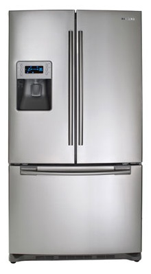 Samsung RF267AERS 26 cu. ft. French Door Refrigerator, Twin Cooling System, Power Freeze, EZ Open Handle, Cool Tight Door, External Digital Display