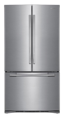 Samsung RFG293HAPN 29 cu. ft. French Door Refrigerator, 5 Spill Proof Glass Shelves, Power Freeze/Cool, Cool Select Pantry w/ Temp. Control, Wine Rack, Internal Ice Dispenser