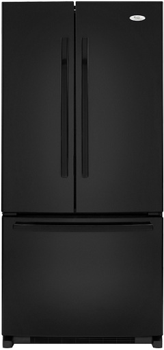 Whirlpool Gold GX2FHDXVB 22 cu. ft. French Door Refrigerator, 4 Adjustable SpillProof Shelves, Humidity-Controlled Crispers, Factory Installed IceMaker