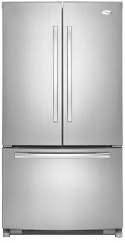 Whirlpool Gold GX5FHTXVA 24.8 cu. ft. French Door Refrigerator, SpillProof Shelves, Factory Installed IceMaker, PuR Water Filtration System