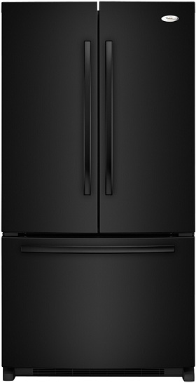 Whirlpool Gold GX5FHTXVB 24.8 cu. ft. French Door Refrigerator, SpillProof Shelves, Factory Installed IceMaker, PuR Water Filtration System