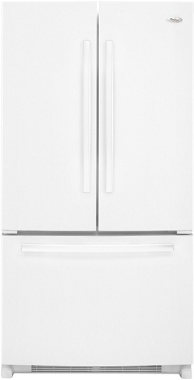 Whirlpool Gold GX5FHTXVQ 24.8 cu. ft. French Door Refrigerator, SpillProof Shelves, Factory Installed IceMaker, PuR Water Filtration System